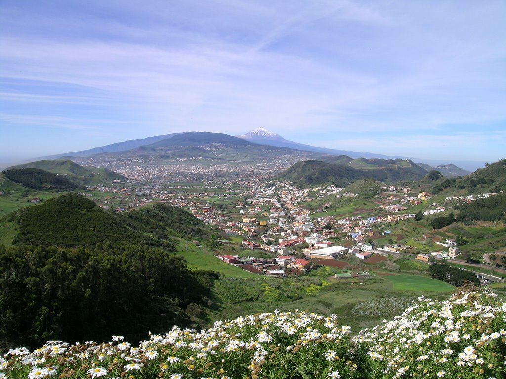 Viewing points in tenerife with the most incredible views for Mirador de jardina