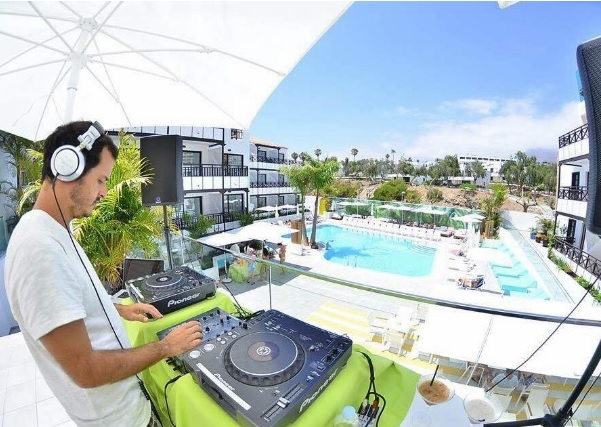 DJ PISCINA 3 ANIVERSARIO VANILLA GARDEN HOTEL TENERIFE SUR