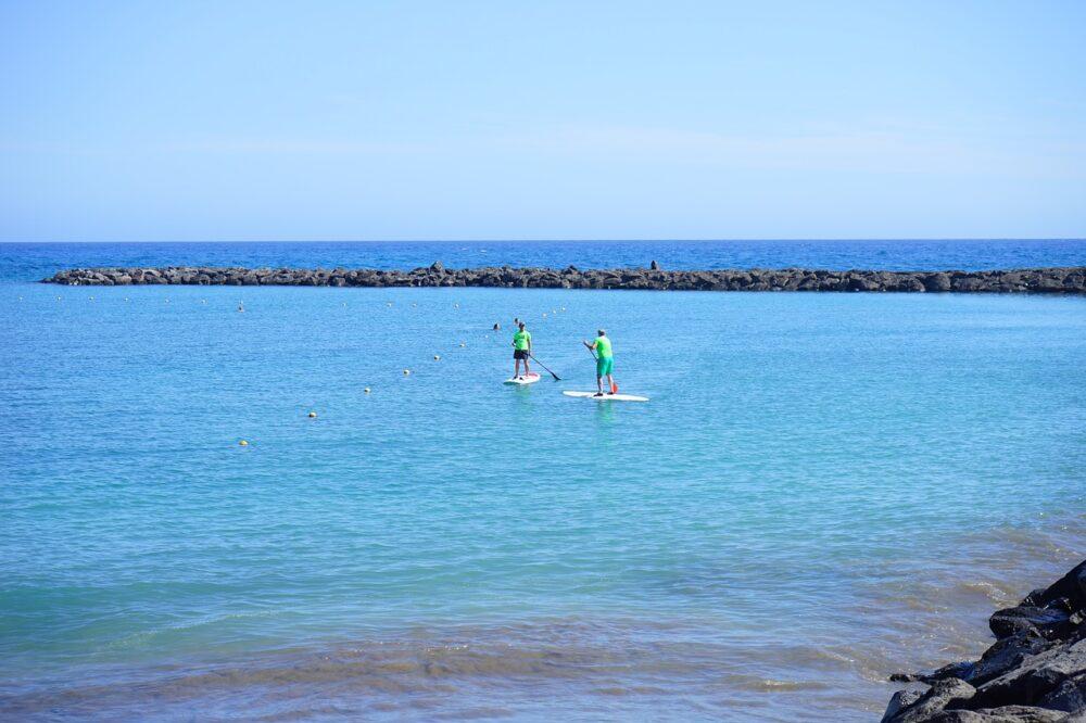 paddle-surf-viajar a-Tenerife-octubre