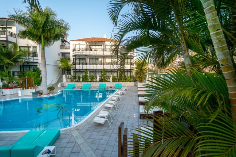 Vistas a piscina Vanilla Garden Hotel Boutique