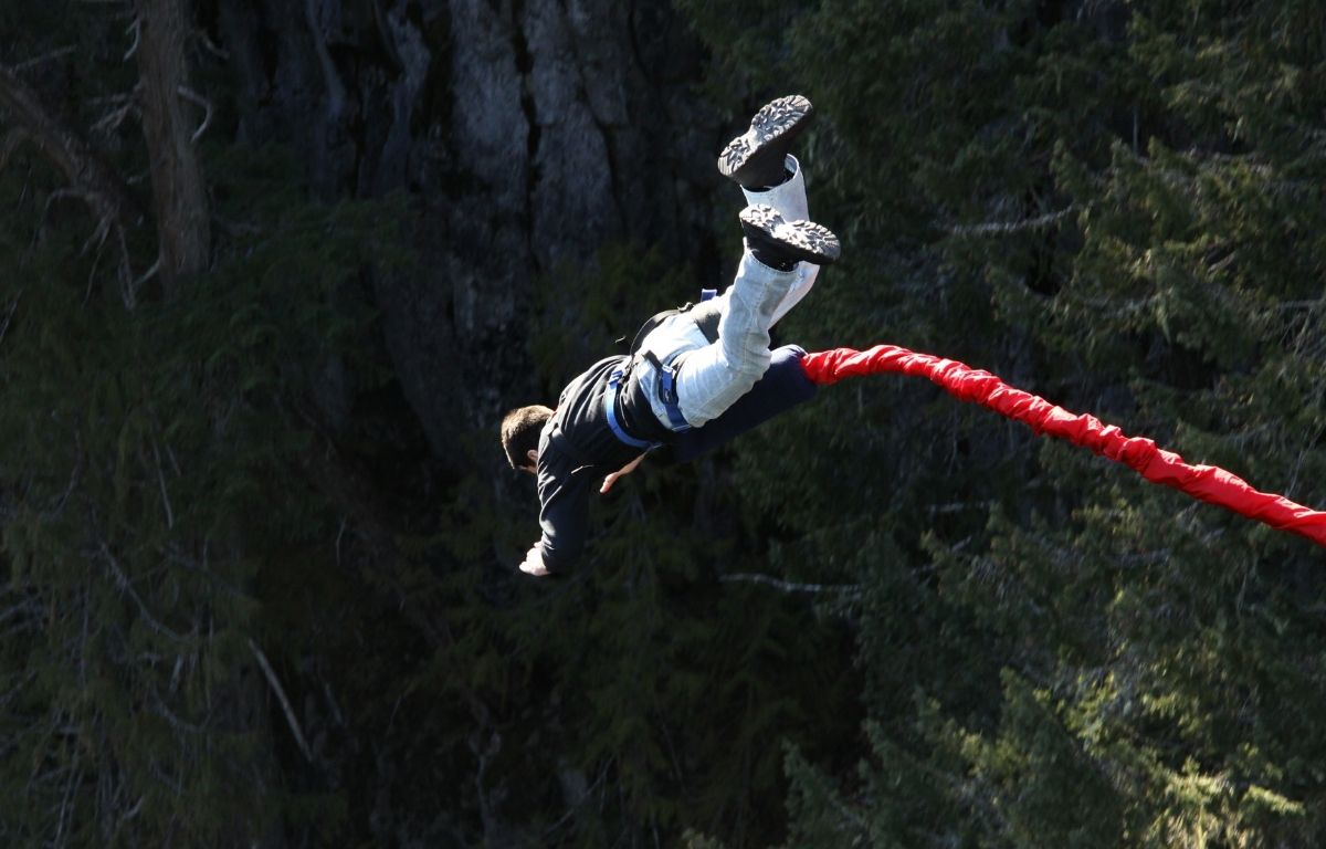 Canary Islands bungee jumping