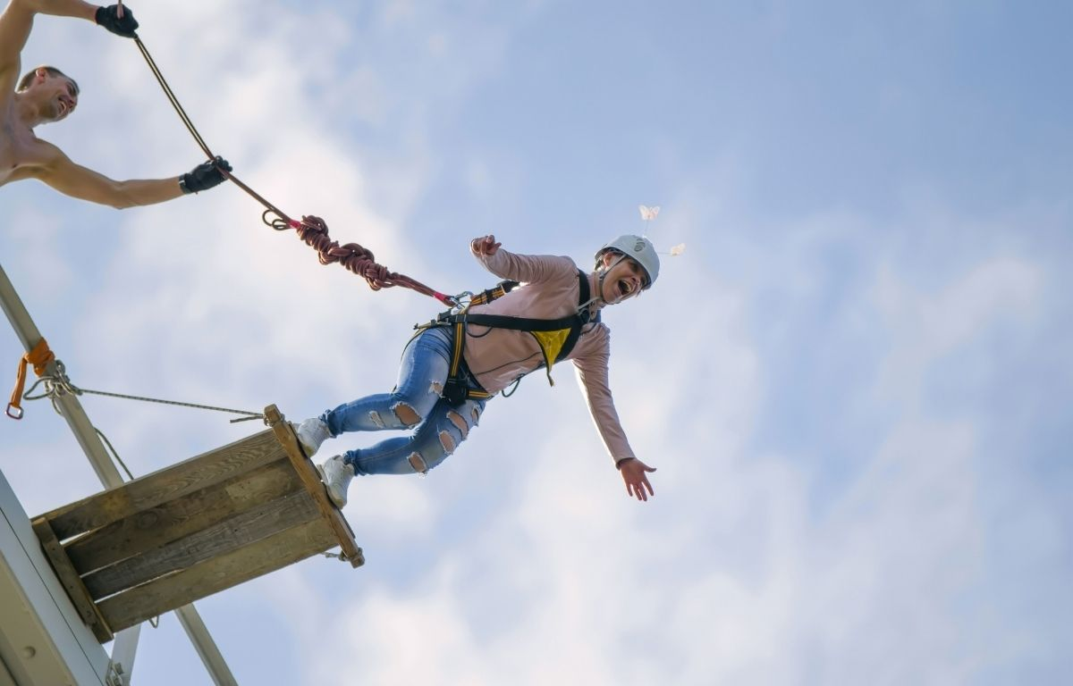 bungee jumping in Canary Islands
