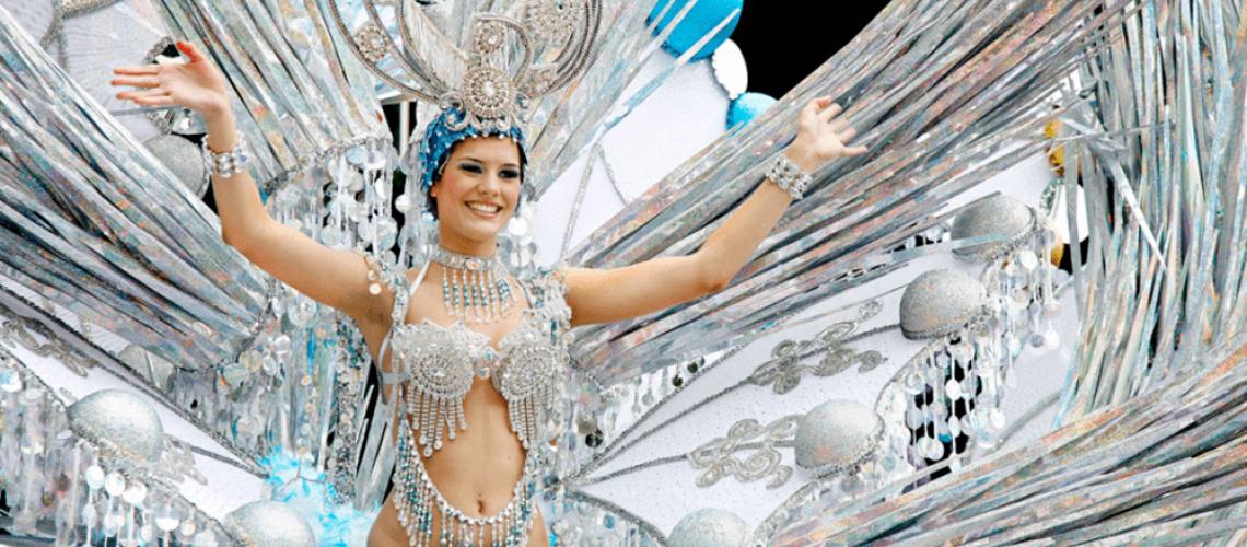 carnival of Tenerife gala de la reina vanilla garden